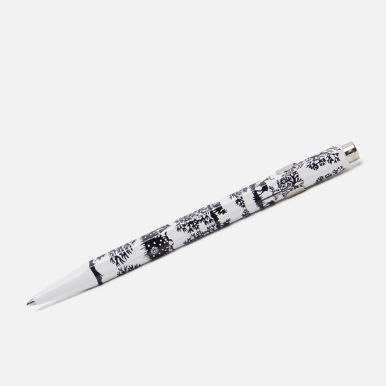 Ручка Caran d'Ache 849 Office Essentialy Swiss Cut Up Paper Silver
