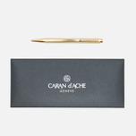 Ручка Caran d'Ache Ecridor Chevron 898 Gilded фото- 0