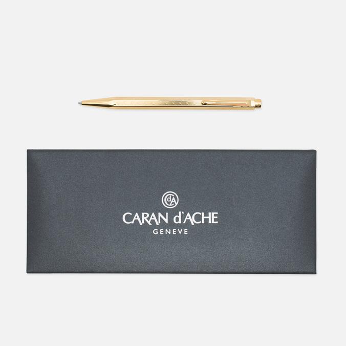 Ручка Caran d'Ache Ecridor Chevron 898 Gilded