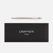 Ручка Caran d'Ache Ecridor Chevron PP 890 Silver фото- 0