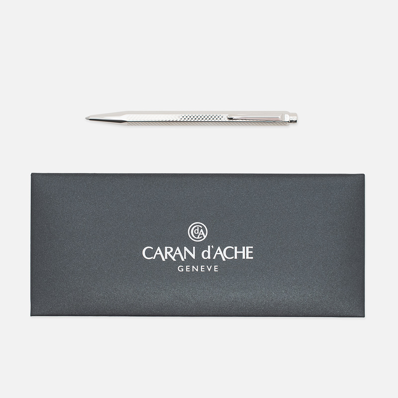 Ручка Caran d'Ache Ecridor Cubrik 890 Silver