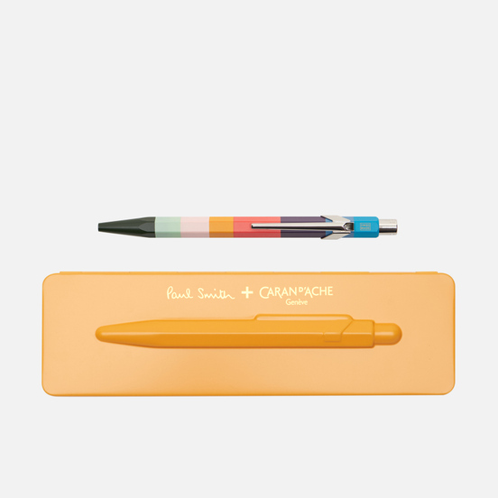Ручка Caran d'Ache x Paul Smith 849 Edition 3 Orange/Navy