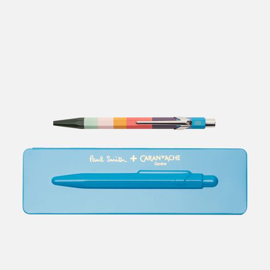 Ручка Caran d'Ache x Paul Smith 849 Edition 3 Peacock Blue/Navy