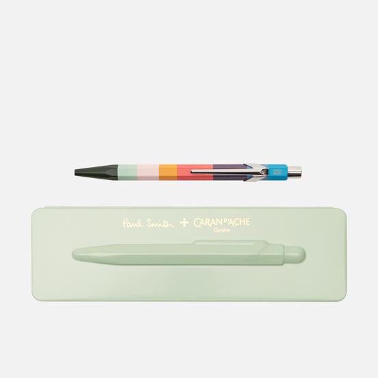 Ручка Caran d'Ache x Paul Smith 849 Edition 3 Pistachio Green/Navy