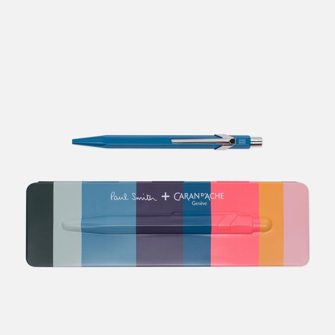 Ручка Caran d'Ache x Paul Smith 849 Peacock Blue