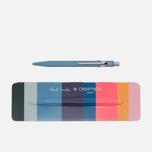 Ручка Caran d'Ache x Paul Smith 849 Petrol Blue фото- 0