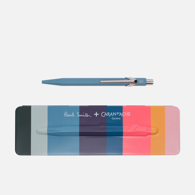 Ручка Caran d'Ache x Paul Smith 849 Petrol Blue