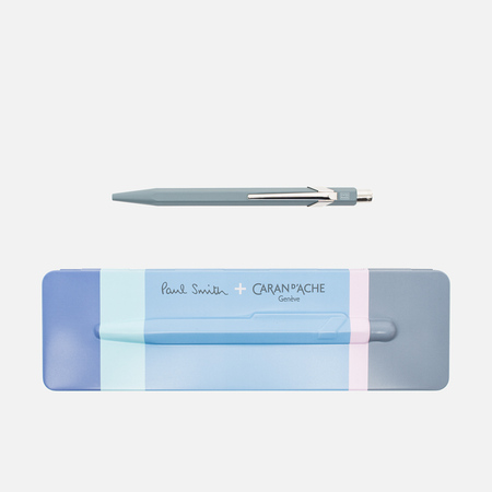 Caran d'Ache x Paul Smith 849 Pen Slate Grey