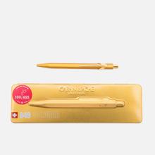 Ручка Caran d'Ache 849 Goldbar Metallic фото- 0