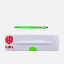 Ручка Caran d'Ache 849 Popline Fluorescent Green фото- 0