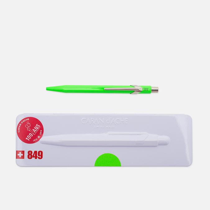 Caran d'Ache 849 Popline Pen Fluorescent Green