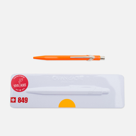 Caran d'Ache 849 Popline Pen Fluorescent Orange