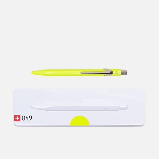 Ручка Caran d'Ache 849 Popline Fluorescent Yellow