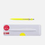 Ручка Caran d'Ache 849 Popline Fluorescent Yellow фото- 0