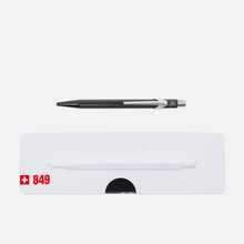 Ручка Caran d'Ache 849 Popline Metallic Black фото- 0