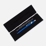 Ручка Caran d'Ache 849 Popline Metallic Blue фото- 4