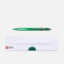 Ручка Caran d'Ache 849 Popline Metallic Green фото- 3
