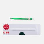 Ручка Caran d'Ache 849 Popline Metallic Green фото- 0
