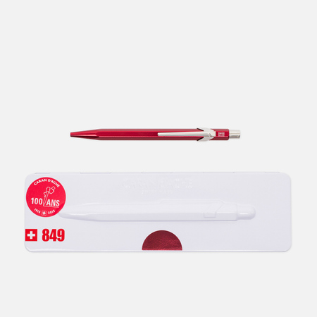 Caran d'Ache 849 Popline Pen Metallic Red