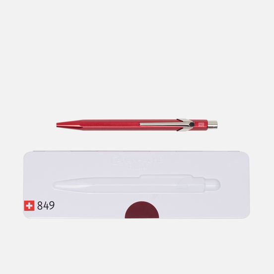 Ручка Caran d'Ache 849 Popline Metallic Red