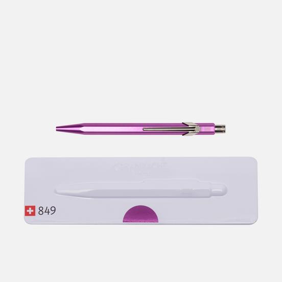 Ручка Caran d'Ache 849 Popline Metallic Violet