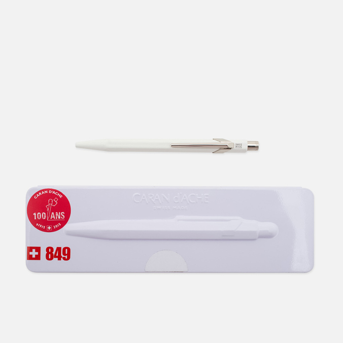 Ручка Caran d'Ache 849 Popline White