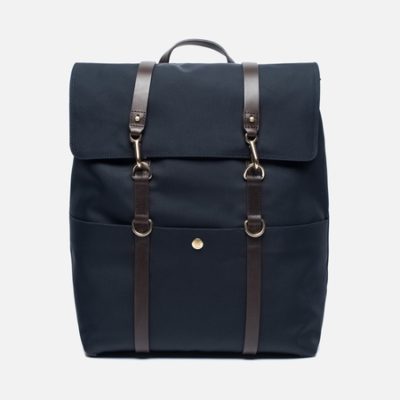 Рюкзак Mismo Backpack Navy/Dark Brown