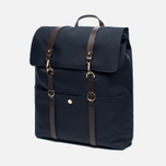 Рюкзак Mismo MS Backpack Navy/Dark Brown фото- 1