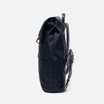 Рюкзак Mismo MS Backpack Navy/Dark Brown фото- 2