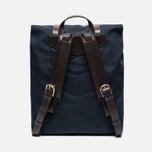 Рюкзак Mismo MS Backpack Navy/Dark Brown фото- 3