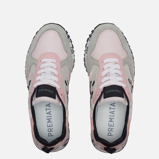 Женские кроссовки Premiata Runsea-d 5233 Pink