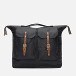 Ally Capellino Frank Waxy Backpack Black/Brown photo- 0
