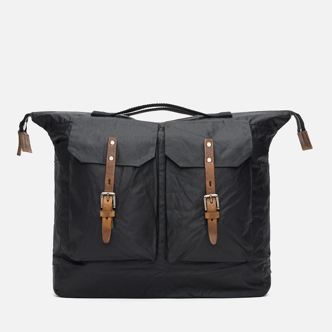 Ally Capellino Frank Waxy Backpack Black/Brown