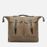 Ally Capellino Frank Waxy Backpack Khaki photo- 0