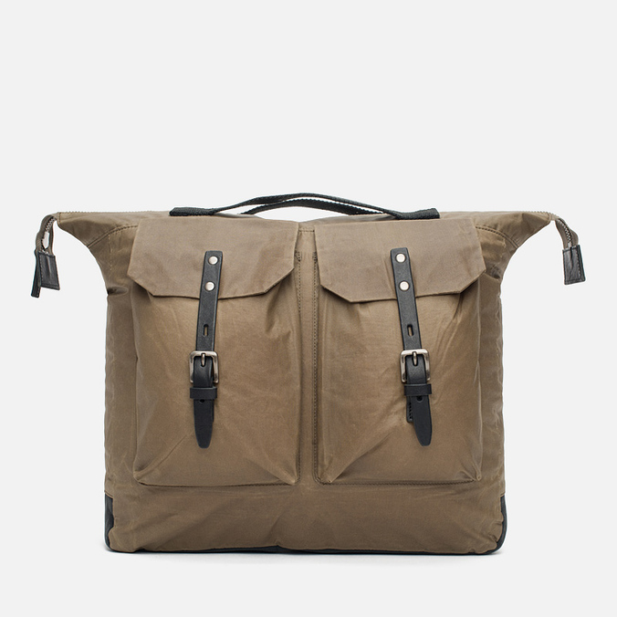 Ally Capellino Frank Waxy Backpack Khaki