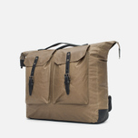 Ally Capellino Frank Waxy Backpack Khaki photo- 1