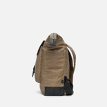 Ally Capellino Frank Waxy Backpack Khaki photo- 2