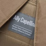 Ally Capellino Frank Waxy Backpack Khaki photo- 8