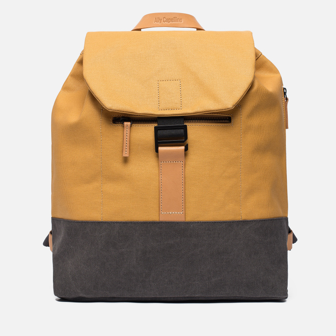 Рюкзак Ally Capellino Haye Waxed Yellow/Grey