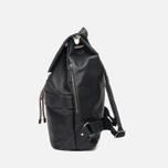 Ally Capellino Kelvin Canvas Backpack Black photo- 2