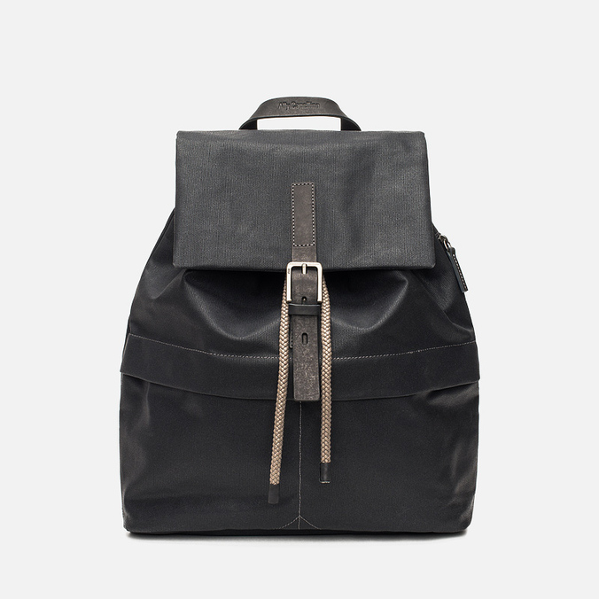 Ally Capellino Kelvin Canvas Backpack Black