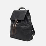 Ally Capellino Kelvin Canvas Backpack Black photo- 1