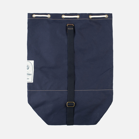 Barbour Duffle Backpack Navy