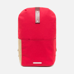 Brooks England Dalston Utility Medium Backpack Red photo- 0