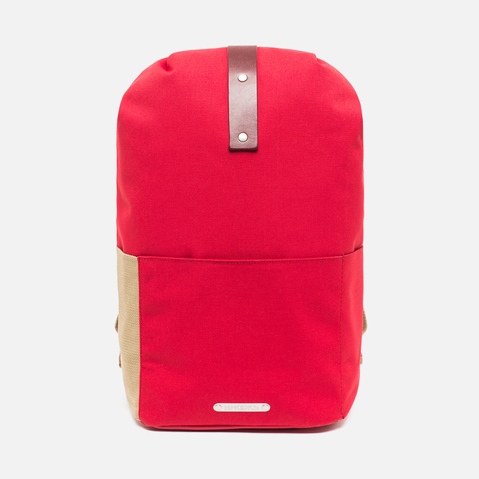 Brooks England Dalston Utility Medium Backpack Red