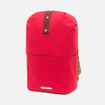 Brooks England Dalston Utility Medium Backpack Red photo- 1