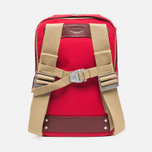 Brooks England Dalston Utility Medium Backpack Red photo- 3