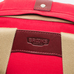 Brooks England Dalston Utility Medium Backpack Red photo- 4