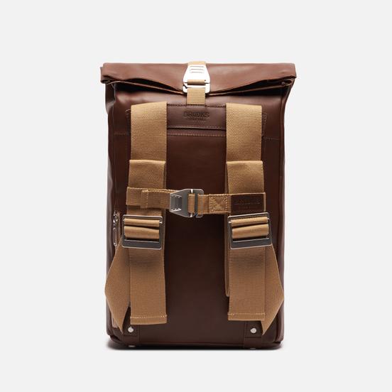 Рюкзак Brooks England Pickwick Thick Leather Small Dark Tan Brown