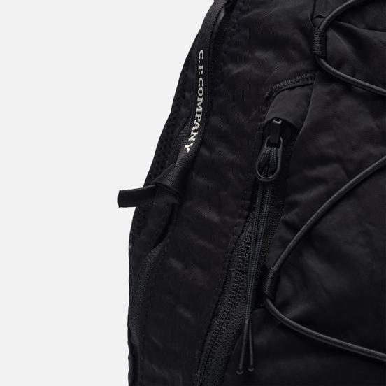 Рюкзак C.P. Company GD Nylon Sateen Shoulder Black